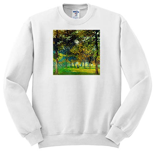 VintageChest - Masterpieces - Claude Monet - The Allee Du Champ De Foire at Argenteuil - Sweatshirts - Adult Sweatshirt XL (ss_303344_4)
