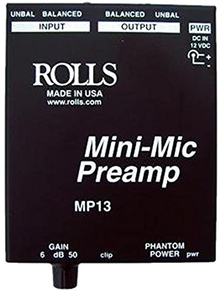 Dynamic Low Noise Microphone Preamplifier Board With Gain Control MMP-R1