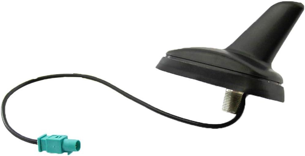 BeIilan Remplacement pour Passat Polo Tiguan Touran T5 antenne de Toit Shark FM Antenne Active fiche m/âle Accessoires Voiture