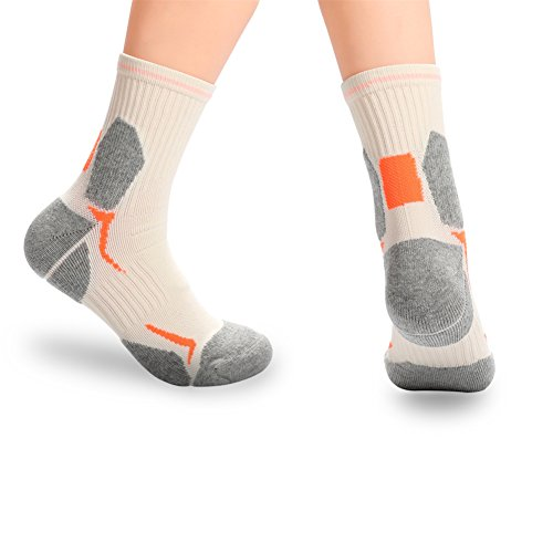 Socks 6 smell Cushion 5 Hiking Pairs Antibacterial 12 Professional Outdoors Size Anti TYR8wqS
