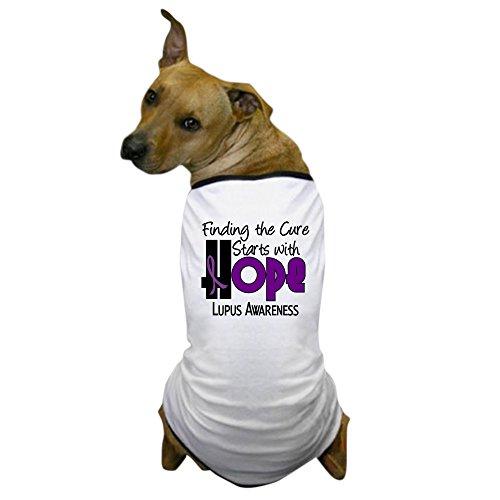 CafePress - HOPE Lupus 4 - Dog T-Shirt, Pet Clothing, Funny Dog Costume