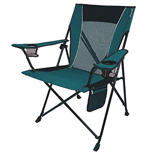 - Foldable Outdoor Chair For Camping, Premium Quality, Blue Iguana Color, For Camping Or Countryside, Polyester Material, Breathable, Carrying Bag Included, Built-In Cup Holders & E-Book Home Décor