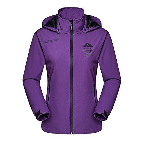 (MAGCOMSEN Womens Hiking Jacket Lightweight Jackets Women 3 Season Jacket Spring Jacket Fall Jacket Windbreakers for)