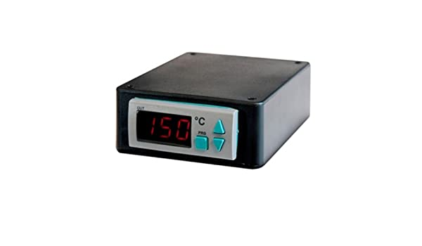 Range: 32 To 999/°F Type-J Thermocouple Sensor Power Input//Output: 240VAC BriskHeat SDC240JF-A SDC Benchtop Temperature Controller with Digital Display