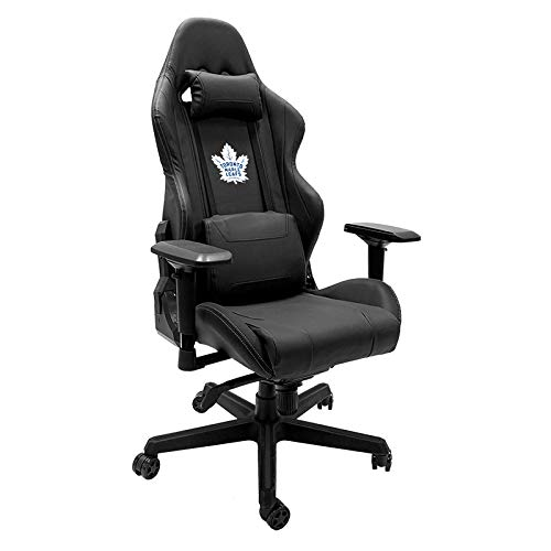 (Xpression Gaming Chair with Toronto Maple Leafs Logo)