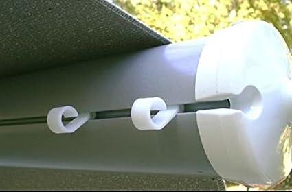 JET  Products 22662 RV Trailer Camper Outdoor Living Awning Light Clip 10/Bag (1) JET ®