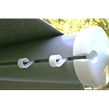 JET PRODUCTS 22662 RV Trailer Camper Outdoor Living Awning Light Clip 10/Bag