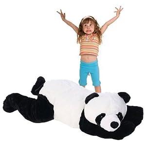 """60"""" Jumbo Plush Pet Panda - 41LODDMNJ4L - 60″ Jumbo Plush Pet Panda"""