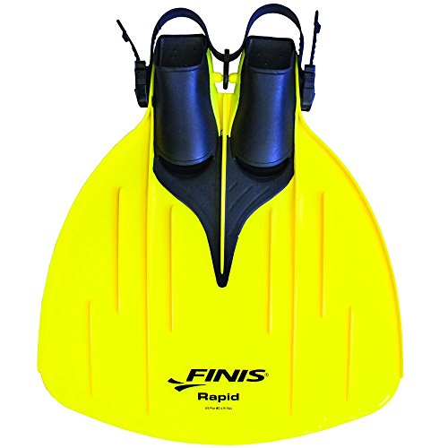 FINIS Monofin Training Wave, yellow, (US) M: 1-7, F: 2-8