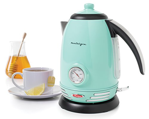 Retro stainless steel electric kettle