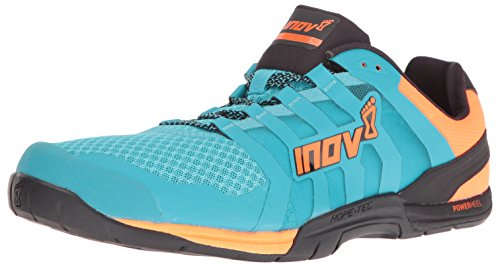 Inov-8 Men's F-Lite 235 V2 Cross-Trainer Shoe, Blue/Neon Orange/Black, 11 E US