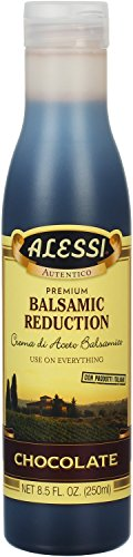 Dark Chocolate Glaze - Alessi Chocolate Balsamic Vinegar Reduction, 8.5 Ounce