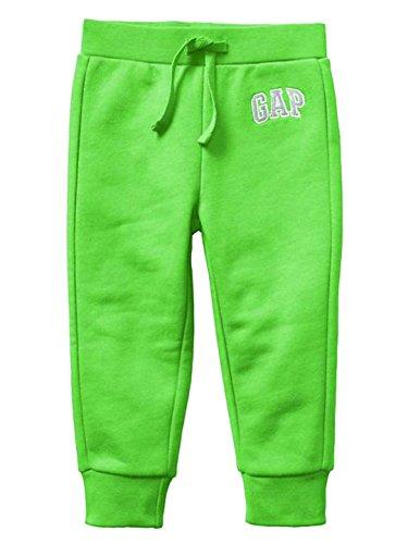 GAP Logo Fleece Pants (Fresh Grass - Green) 18-24 Months