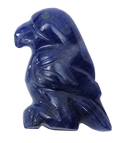 HARMONIZE Lapis Lazuli Stone Mini Carved Bird Figurine Energy Generator Reiki Healing Crystal