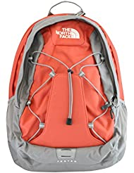The North Face womens Jester Laptop Backpack BOOK BAG Emberglow orange