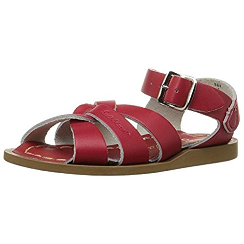 Salt Water Sandals by Hoy Shoe Original Sandal ,Red,3 M US T