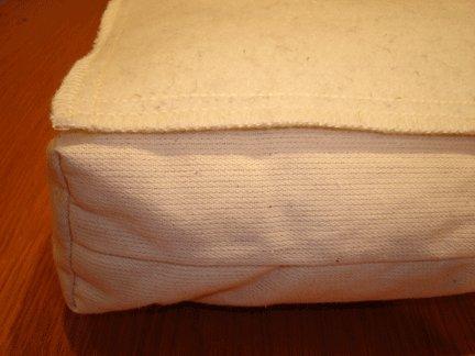 Holy Lamb Organics Wool Moisture Barrier Queen Mattress Protector