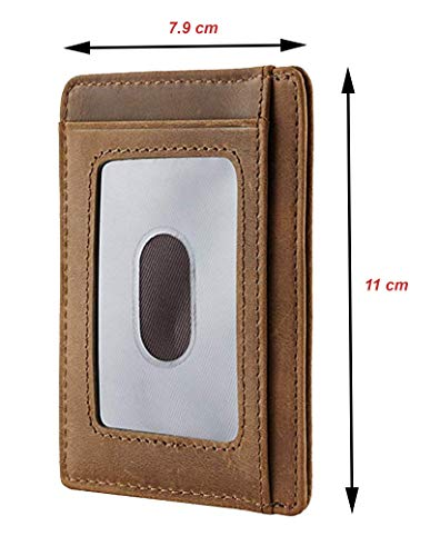 Mom Son Wallet Engraved Leather Front Pocket Wallet A Son Mom