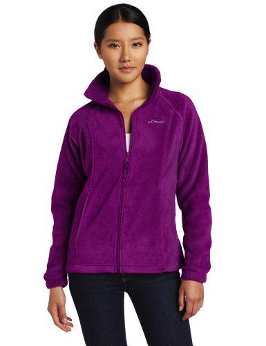 Columbia Women's Benton Springs Full Zip Fleece Jacket, P...
