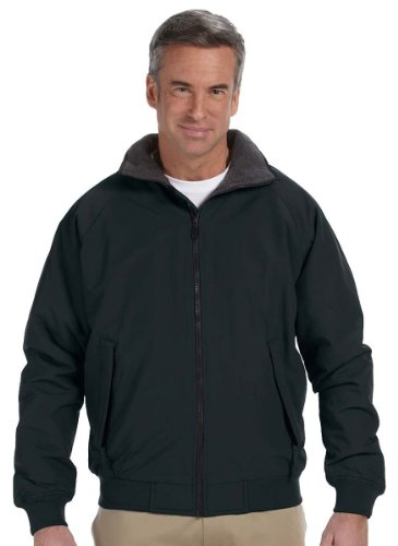 Devon And Jones Classic Jacket (Devon & Jones Mens Three-Season Classic Jacket D700 -BLACK XL)