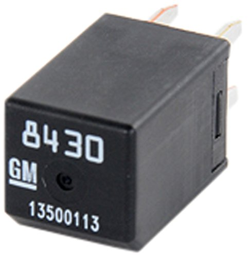 ACDelco D1777C GM Original Equipment Black Multi-Purpose Relay
