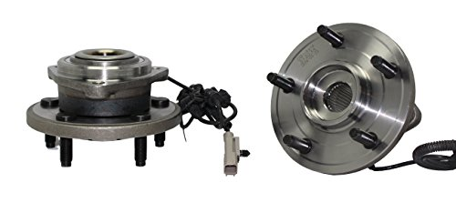Jeep Hub Assembly (Brand New (Both) New Front Passenger & Driver Wheel Hub and Bearing Assembly Fits 2006 2007 2008 2009 2010 Jeep Commander and 2005 - 2010 Grand Cherokee With ABS Wire 513234)