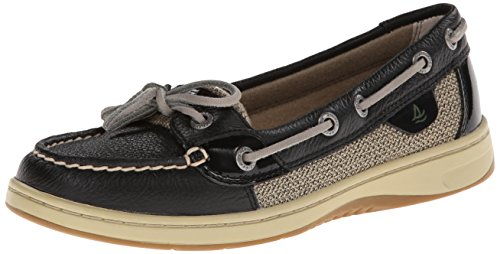 Sperry Top Sider Angelfish Donna US 5 Nero Scarpa da Barca2.5 EU 35,5