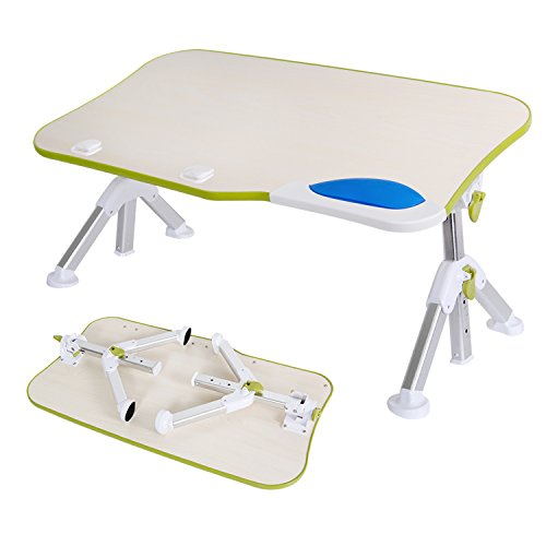 Lifewit Adjustable Laptop Tablet, Lapdesk Notebook Stand, Portable Standing Working Desk, Foldable Sofa Breakfast Tray, Kids Table