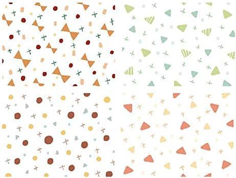 Hongma 40枚入り 折り紙 ペーパー カラフル 手芸 DIY 手作り 混合 可愛い