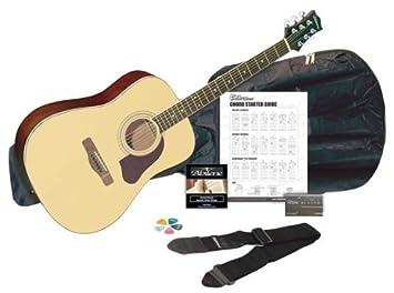 Amazon.com: Silvertone SD3000PAK BK guitarra acústica ...