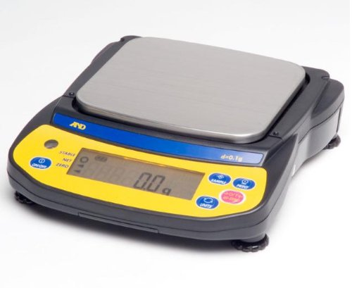 A&D EJ-6100 Precision Lab Balance 6100gx0.1g,pan size 5''x5.5'', Compact Portable Jewelry Scale,5 year warranty,New