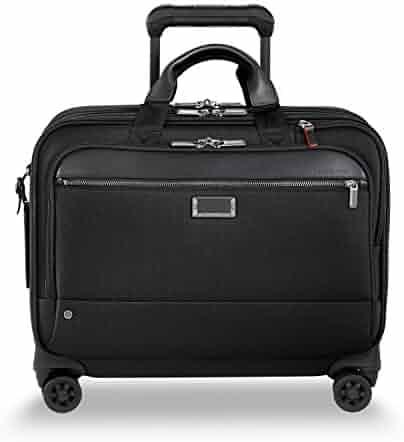 Briggs & Riley @ Work-Spinner Brief Rolling Briefcase, Black, Large