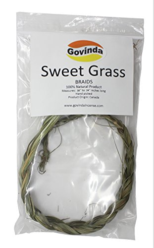 (Govinda - Sweetgrass Braid - 18 Inch to 24)