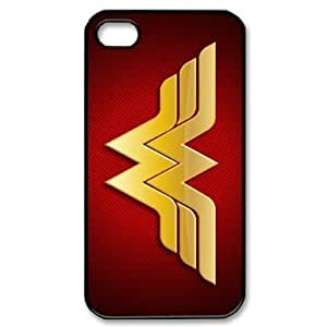 Custom Hard Wonder Woman iPhone 4 / 4S Cover, Snap On Wonder Woman iPhone 4 / 4S by supermalls