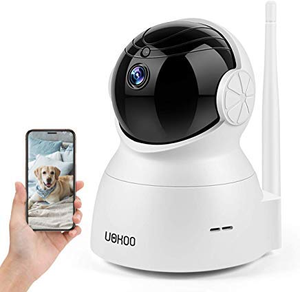 Wireless Security Camera, 720P HD Home WiFi Wireless Security Surveillance IP Camera with Motion Detection Pan/Tilt, 2 Way Audio and Night Vision Baby Monitor, Nanny Cam