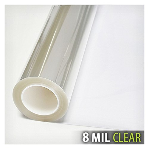 BDF S8MC Window Film Security and Safety Clear 8 Mil (30in X 49ft) by Buydecorativefilm (Image #2)