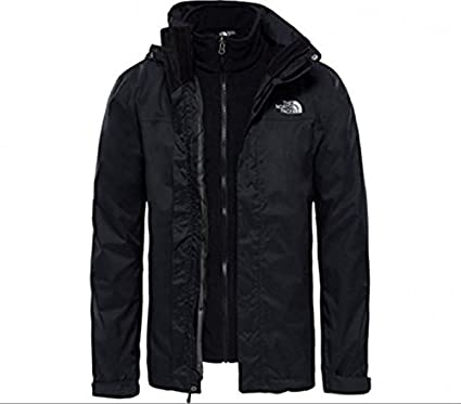 The North Face M Tri Jkt Evolve II Triclimate - Chaqueta, Hombre, Negro (