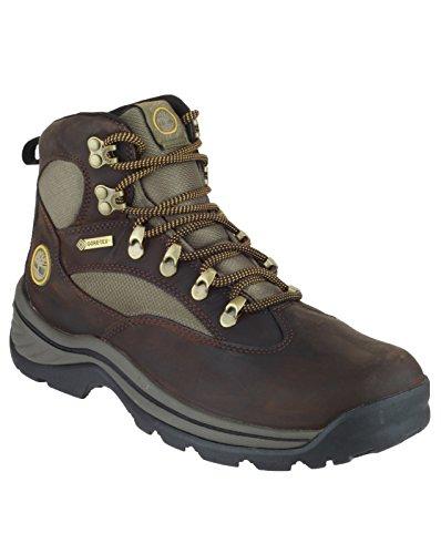 Timberland Chocorua Trail Boots Men Mid GTX Brown with Green Größe 42 2017 Schuhe