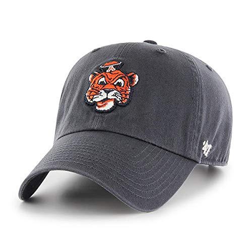 '47 Auburn Tigers Brand Vintage Navy Retro Clean Up Adj. Slouch Hat Cap ()