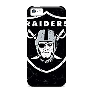 Shock-dirt Proof Oakland Raiders Case Cover For Iphone 5c