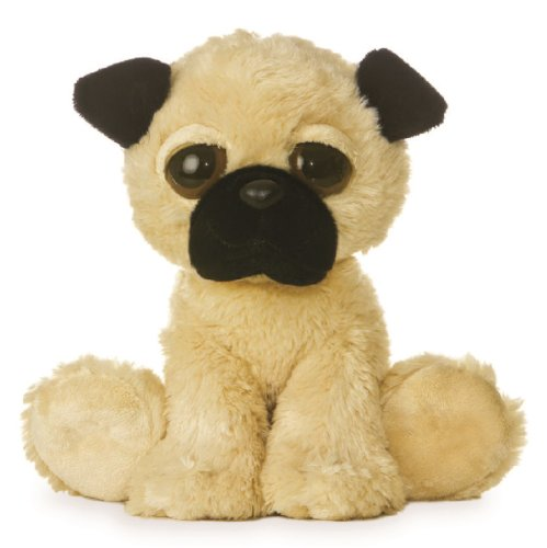 "12"" Dreamy Eyes Pug Soft Toy"