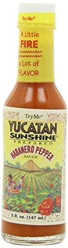 Try Me Yucatan Sunshine Habanero Pepper Sauce, 5 Oz