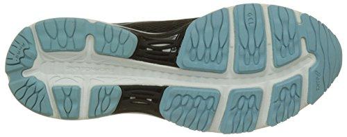 9014 para Porcelain Blue Negro Black Mujer Asics de White 19 Zapatillas Gel Cumulus Running WfqYwOR