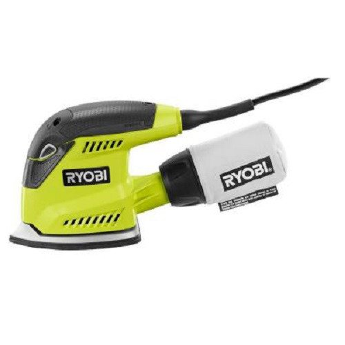Ryobi ZRCFS1503GK 1.2 Amp Corner Cat Finish Sander (Green) Factory (Certified Refurbished) For Sale