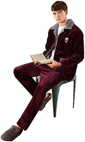 Pijamas clásicos de Color sólido para los Hombres Rojo Oscuro ...