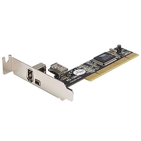 Amazon.com: StarTech Low Profile 3 Port PCI/PCI-X ...