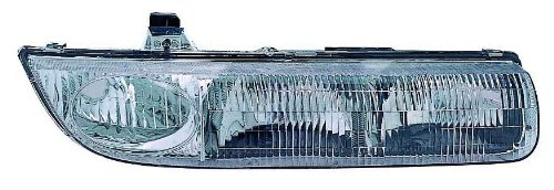 Depo 335-1107R-AS Saturn Passenger Side Replacement Headlight - Sl2 Headlight Replacement Saturn