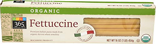 - 365 Everyday Value, Organic Fettuccine, 16 oz