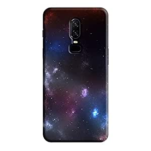 Cover It Up - Pink Deep SpaceOnePlus 6 Hard Case