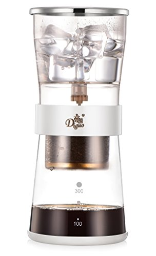 Diguo Cold Brew Coffee Dripper Adjustable Ice Drip Dripper Glass Carafe Duth coffee maker by Diguo